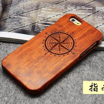 Harga LYBALL 100% Handmade Real Bamboo Wooden Wood Case cover for iPhone 7 - intl