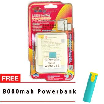 MSM HK Battery for Cherry Mobile CM-9F (W900 LTE) WITH FREE 8,000 mah powerbank Price Philippines