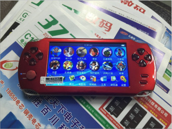 9000+ Free Games 5 Inch 8G PSP Game Player Handheld GBA Consoles Big Screen MP3/MP4/MP5/FM/Camera (Red) - intl Price Philippines