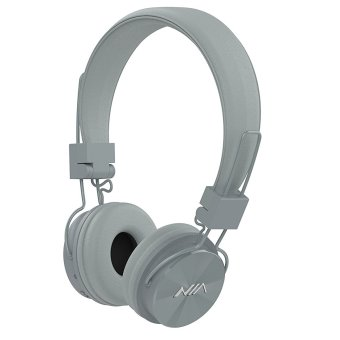Nia X3 108dB 4 in 1 Bluetooth Wireless Over Ear Headphone (Gray) Price Philippines