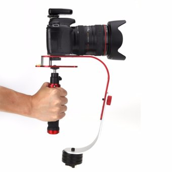 Harga High Quality Professional Handheld Stabilizer Video Steadicam up to 2.1 lbs(Red) - intl