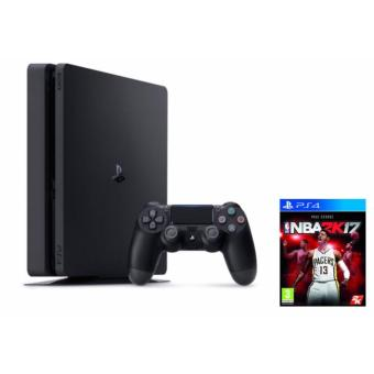 Sony PlayStation 4 Slim 500GB (Jet Black) with Free NBA 2K17 GAME Price Philippines