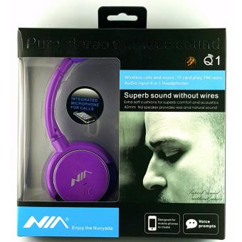 Nia Q1 Wireless Bluetooth 4 in1 Headphones FREE Ring Phone Holder Stand Price Philippines