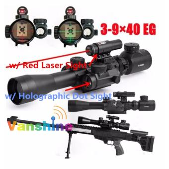 3-9x40EG Zoomable Lighted Air Rifle Scope with FREE LASER SCOPE Price Philippines