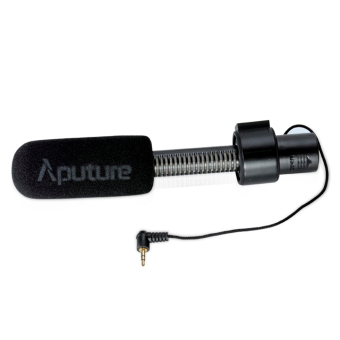 Aputure V-Mic D1 Directional Condenser Microphone for Canon Nikon Sony DSLRs and Camcorders (Black) - intl Price Philippines