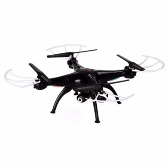 Syma X5SW Explorers 2 2.4GHz 4 Channel WiFi FPV RC Quadcopter with 2.0MP HD Camera 6 Axis 3D Flip Flight UFO RTF Syma X5W Explorers 2 RC Quadcopter/WiFi/FPV/RTF/HD Camera/360 Degree Eversion (Black) Price Philippines