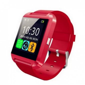 Harga Cai-99 Bluetooth Touchscreen Smart Watch (Red)