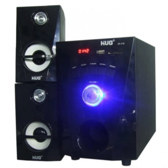 Harga Cai Music-216 3D Surround Sound Speaker (Black)
