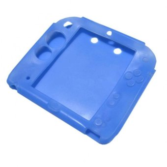 Harga Silicone Case for Nintendo 2DS (Blue)