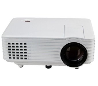 Harga RD805 Mini LED Home Portable Projector (White)