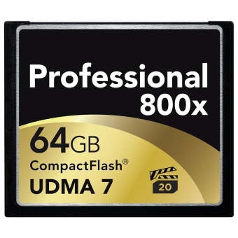 Harga 120MB/s Brand 64GB 800x Compact Flash Card UDMA 7 CF Compact Flash Memory Card for DSLR