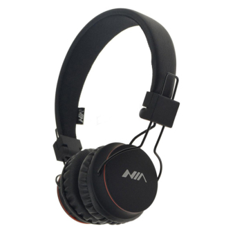 NIA X2 Superb Sound Collapsible 108dB Bluetooth Headset with FM Radio and TF/AUX Slot (Black) Price Philippines
