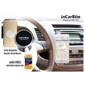 Harga InCarBite DDS-MM Magnetic Mobile Dash Mount w/ Free Microtex MA-WP100 Wash Pad