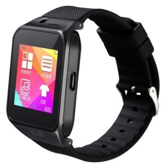Harga Cai GV09 Cellphone Smart Watch (Black)