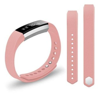 Hanlesi Strap for Fitbit Alta and Alta HR , TPU Soft Silicone Adjustable Replacement Band for Fitbit Alta and Alta HR Smartwatch Heart Rate Fitness Wristband - intl Price Philippines
