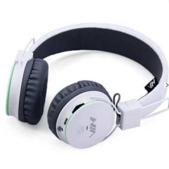NIA X2 Superb Sound Bluetooth Headset with FM Radio and TF/AUX Slot (White) Price Philippines