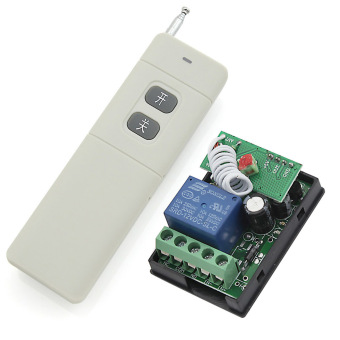 eMylo RF DC 12V 433Mhz 1 Channel One Relay Wireless Learning Remote Control Switch with a Range of 300-500m Transmitter Price Philippines
