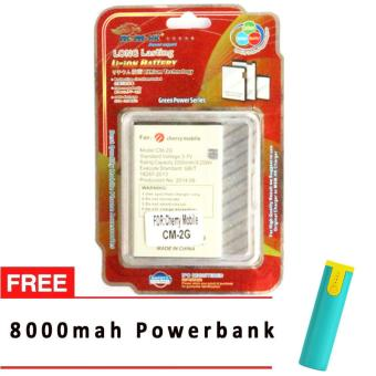MSM HK Battery for Cherry Mobile CM-2G EDGE WITH FREE 8,000 MAH POWERBANK Price Philippines