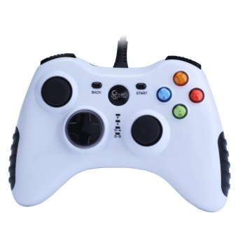 ninror Wired Game Controller for PC(Windows XP/7/8/10) Android Devices (White) - intl Price Philippines