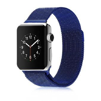 Harga Stainless Steel Milanese Magnetic Loop Strap Watch Bands For Apple Watch iWatch 42mm - intl