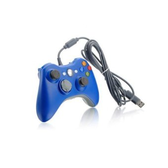 Deerway Wired Game Controller Joypad Joystick For Xbox 360 PC Blue Price Philippines
