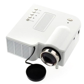 Harga S4 LCD Image System Multimedia LED Projector (White)