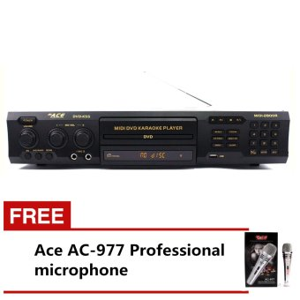 Ace MIDI-2800R Professiona King Song Karaoke DVD Player with Free Ace AC-977 Microphone Price Philippines