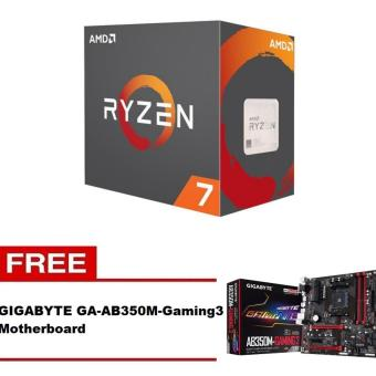 AMD Ryzen 7 1700X 8 Core AM4 Processor with FREE Gigabyte GA-AB350M-Gaming 3 Motherboard Price Philippines