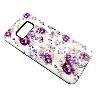 DualPro Hard Shell PC Case with Floral Paint for Samsung Galaxy S8 #1 Price Philippines