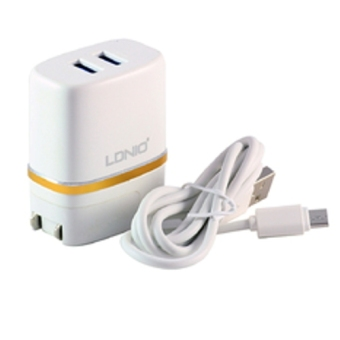 Harga LDNIO DL-AC52 AndroidsTravel Charger/ USB Wall