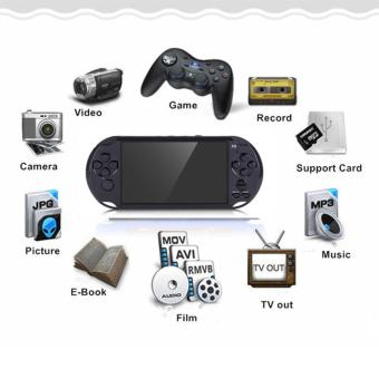 Big HD LCD Screen Multi-Function Game Player 5 Inch MP5 GBA PSP Consoles Support Ebook/Music/Movie/Camera/Picture (Black) - intl Price Philippines