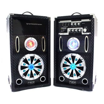 "Ace H603 6.5"" Highpower Professional Sub-woofer Actice Stage Speaker set with Amplifier Price Philippines"
