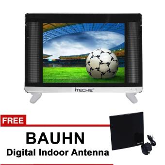 Itechie 19'' Full HD LED TV LIN19 (Black) with FREE BAUHN Digital Indoor Antenna Price Philippines