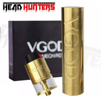 Harga VGOD Pro Mech with Pro Tricktank RDTA 24mm Atomizer Pro Kit and Spare Parts - Head Hunters Vape On