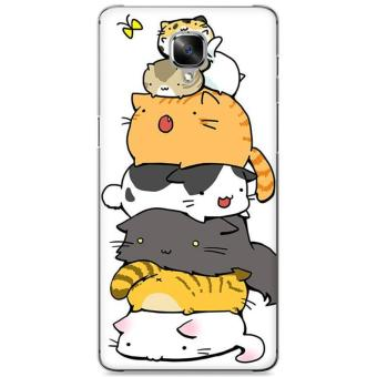 Harga 3D Cartoon Phone Case Hard Plastic Phone Cover For OnePlus 3 / OnePlus 3T - intl