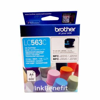Brother LC563C Genuine Ink Cartridge (Cyan) Price Philippines