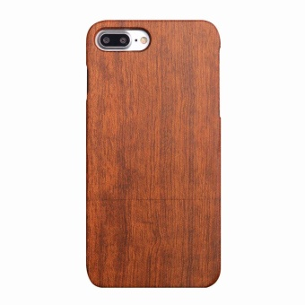 Rosewood True Wood Phone Case for Apple iPhone 7 Plus - Raw Rosewood - intl Price Philippines