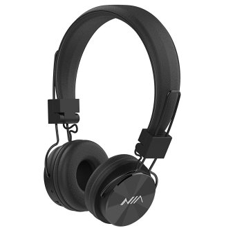 Nia X3 108dB 4 in 1 Bluetooth Wireless Over Ear Headphone (Black) Price Philippines
