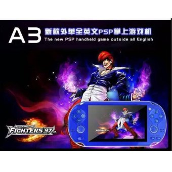 Double Rockers Handheld Game Player 4gb 4.3 inch Video Game Portatil 2017 Portable Game Console Free Download Camera TV Out(Blue) - intl Price Philippines