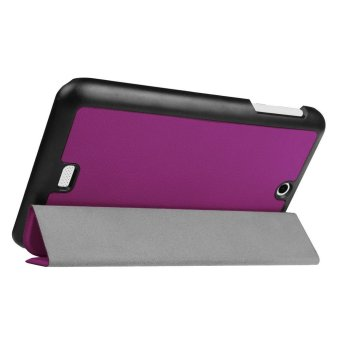 Harga PU Leather Stand Cover for Acer Iconia B1-770 (Purple)