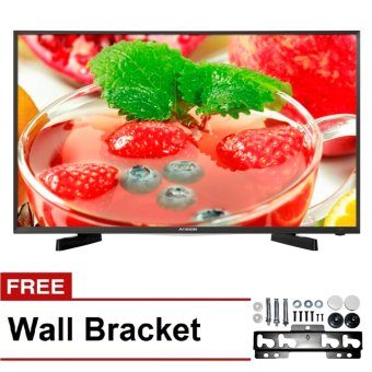 "Avision 49"" Full HD Digital LED TV (Black) 49K786D with Free Wall Bracket"""