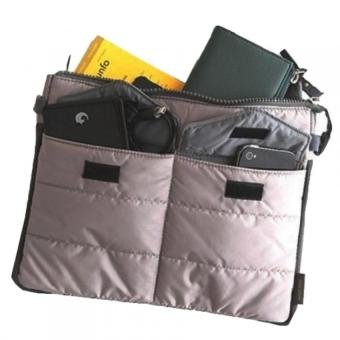 Multifunctional Gadget Pouch Organizer (Gray) Price Philippines