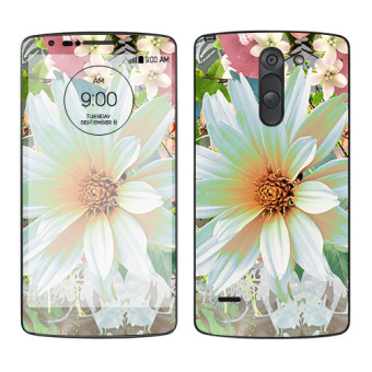 Harga Oddstickers Floral 2 Skin Cover for LG G3 Stylus
