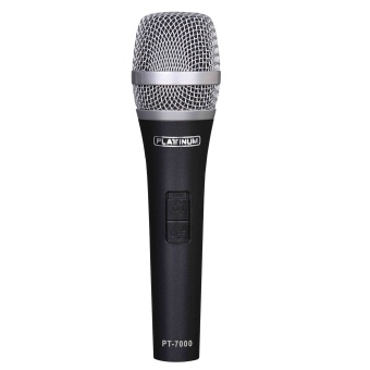 Harga The Platinum PT-7000 Dynamic Wired Microphone (Black)