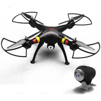 Syma X8C Venture 4 Channel 2.4GHz R/C Quadcopter Drone With 2MP Camera (Black) Price Philippines