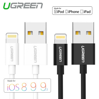Harga UGREEN 0.25m MFi Certified 8 Pin USB Cable for iPhone 6/6s/5s/iPad