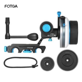Harga FOTGA DP500III Follow Focus FF A/B Hard Stop w/ Speed Crank Handle 0.8m Gear Set for 15mm Rod Rig Video Film Making System Outdoorfree - intl