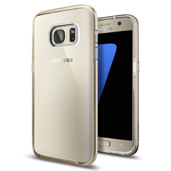 Harga SPIGEN Neo Hybrid Crystal For Samsung Galaxy S7 (Champagne Gold)