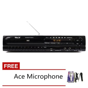 Ace MIDI-9907 All In One Karaoke/DVD Player with Free Ace-504 Microphone Price Philippines
