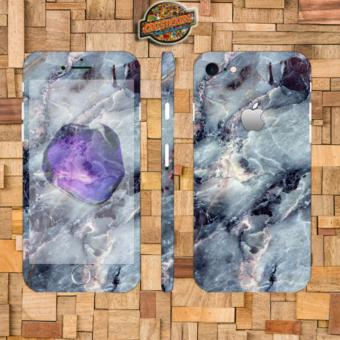 Harga Oddstickers marble 2 Phone Skin Cover for iPhone 7